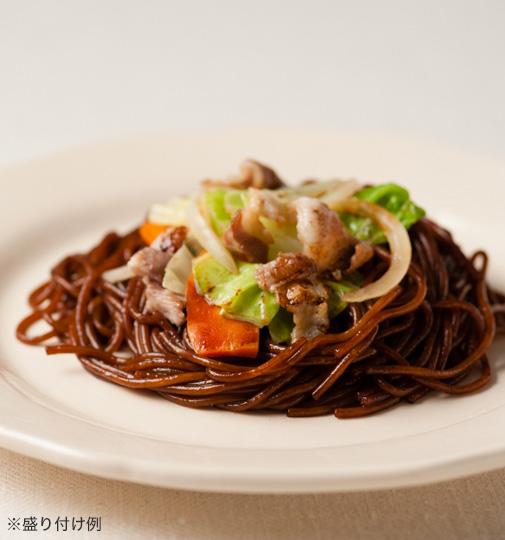 赤城食品 呑龍黒焼きそば 6食セット