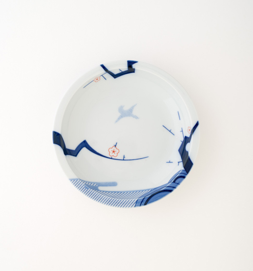 ZOA-JAPAN Daily KACHO 4.5寸皿