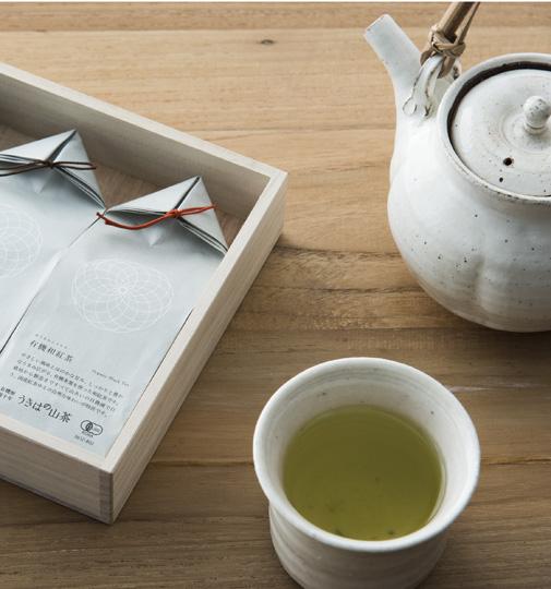 新川製茶 うきはの山茶 3本セット(桐箱入)